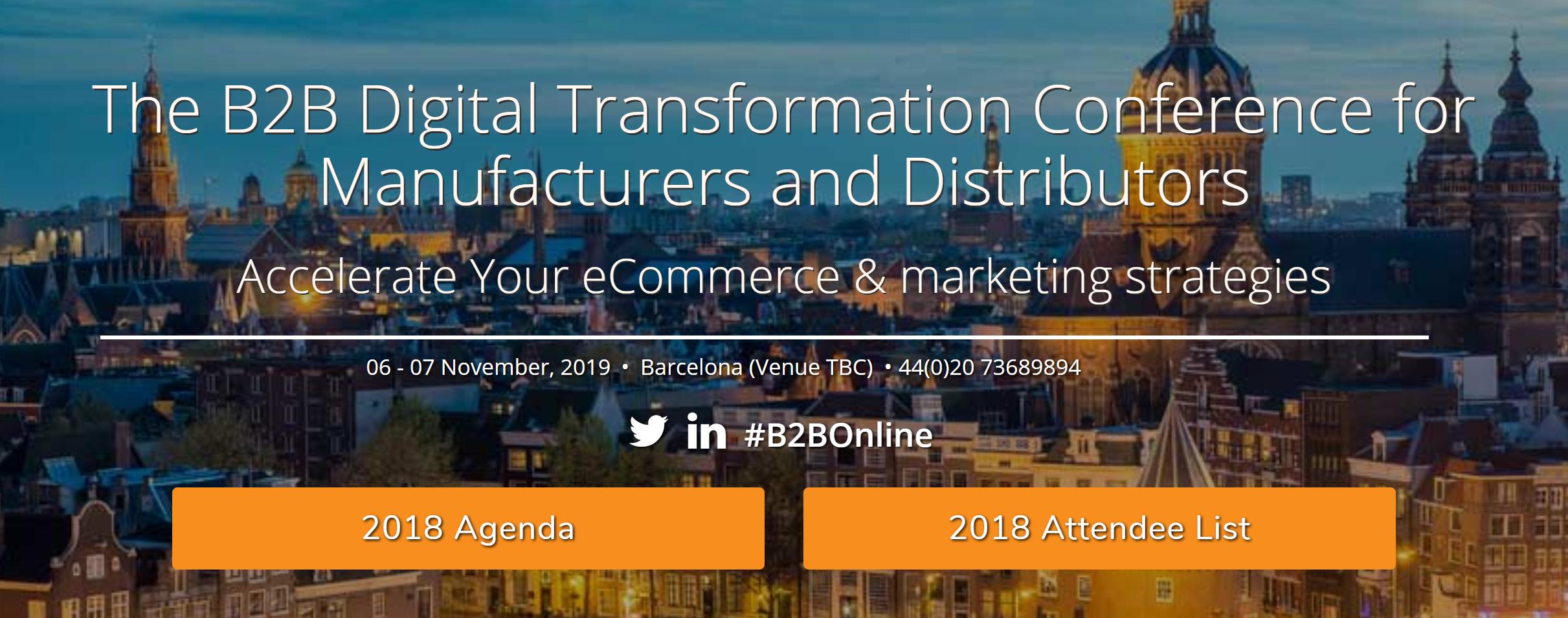 B2B Digital Transformation Conference