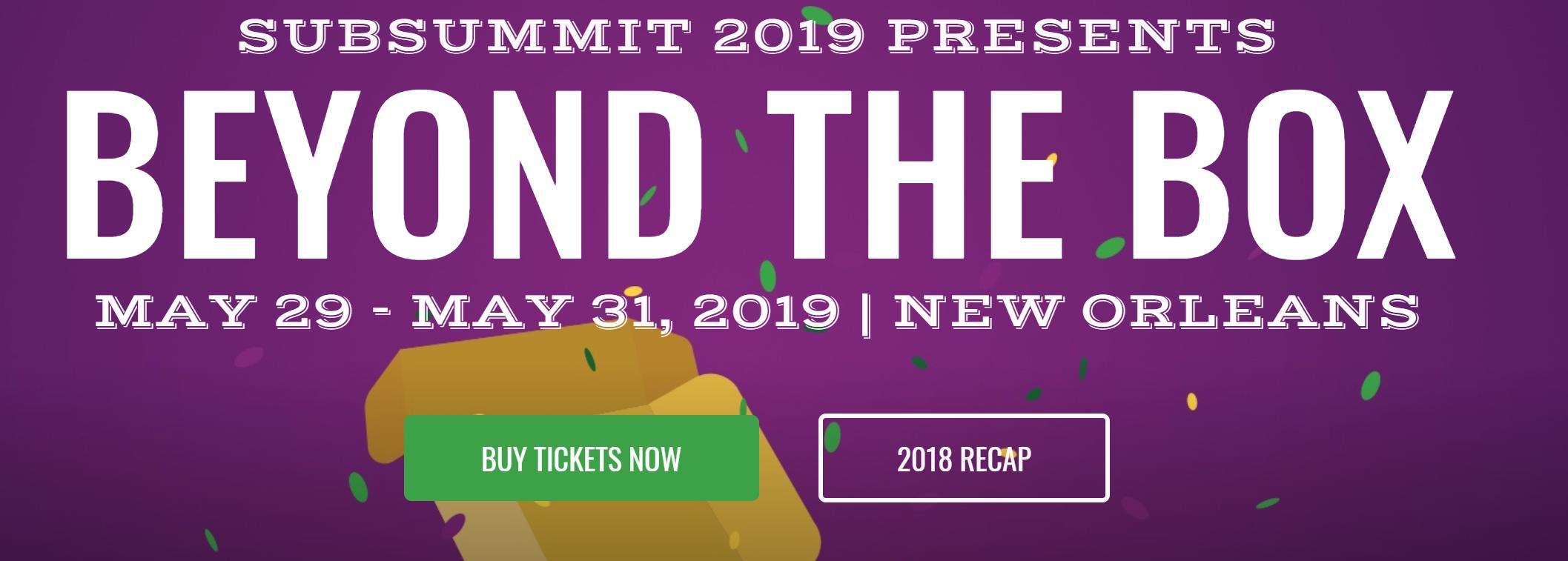 sub summit 2019
