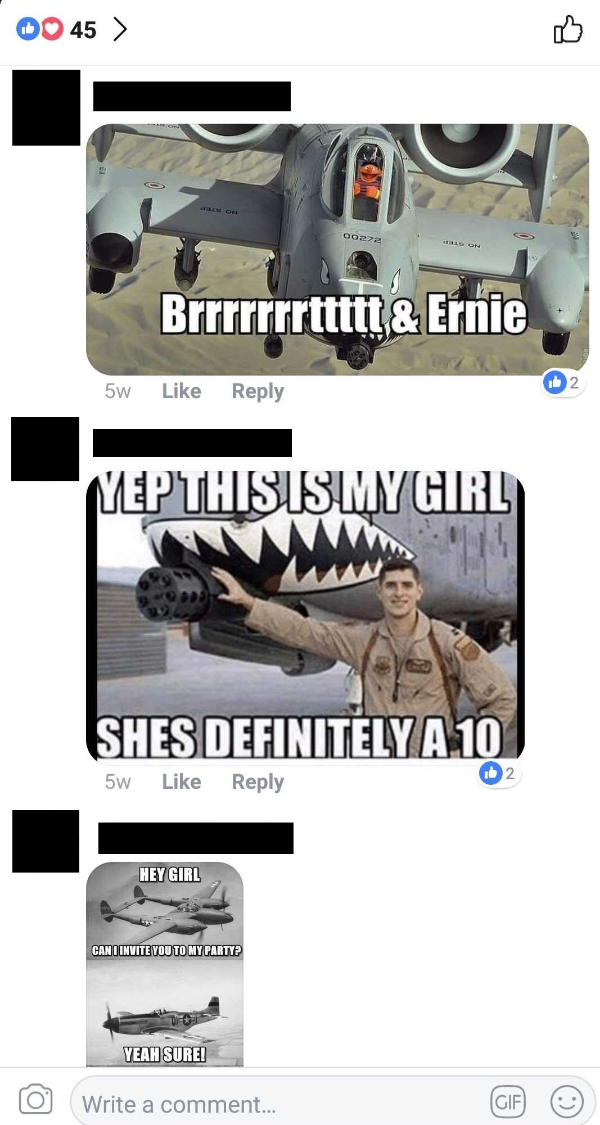 Facebook Meme Contest Comments