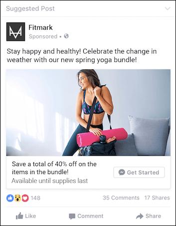 Fitmark Ad