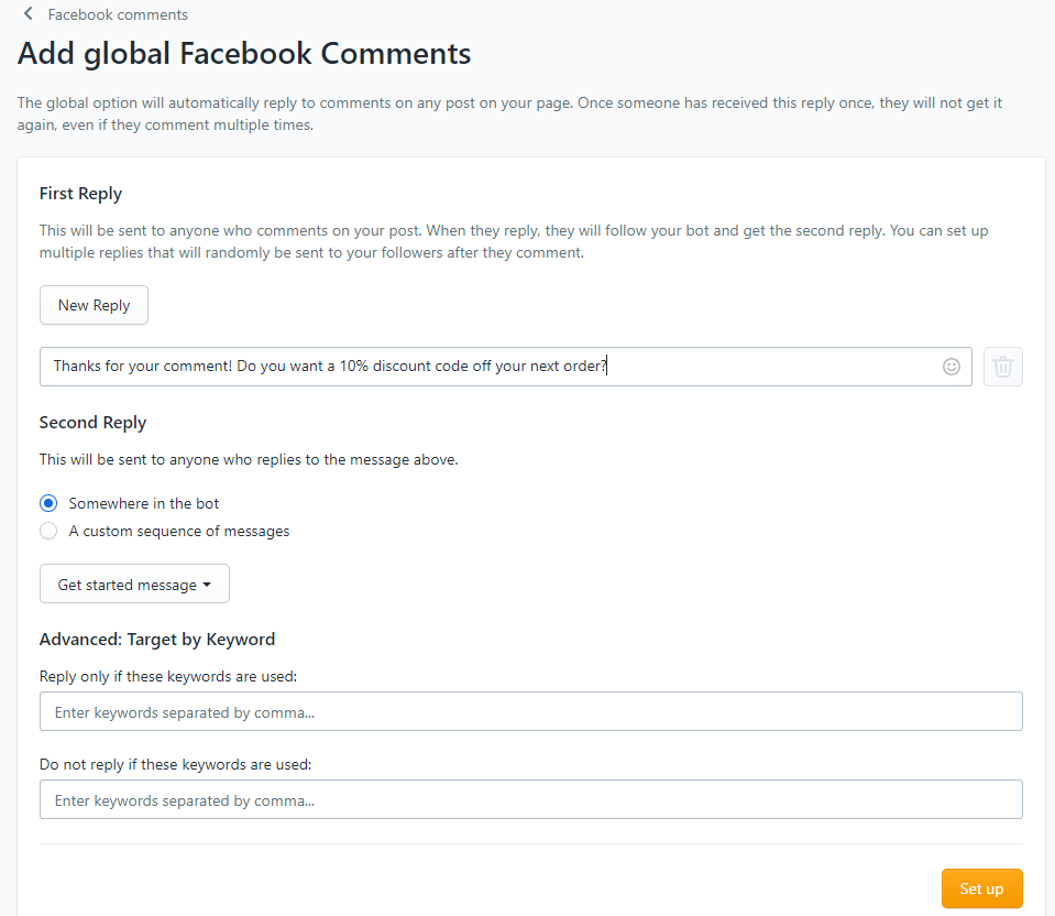 facebook global comment capture