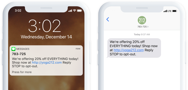 octane ai sms for shopify