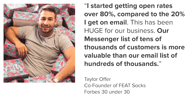 feat socks taylor offer octane ai